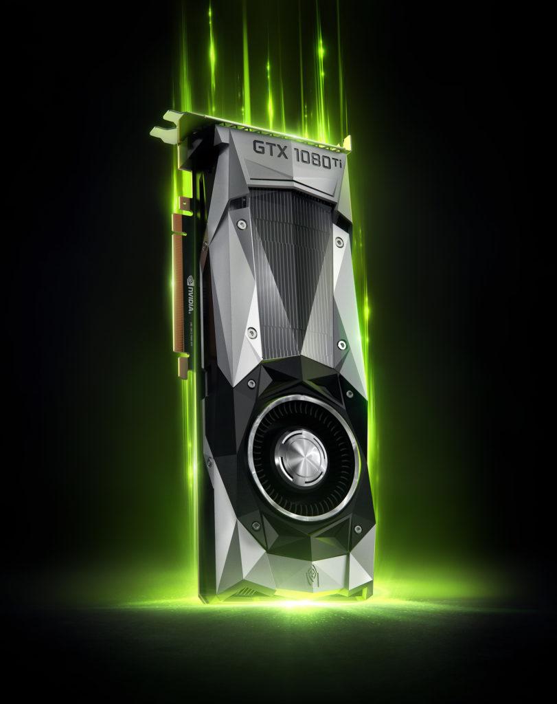 NVidia Geforce GTX 1080 TI | CGI